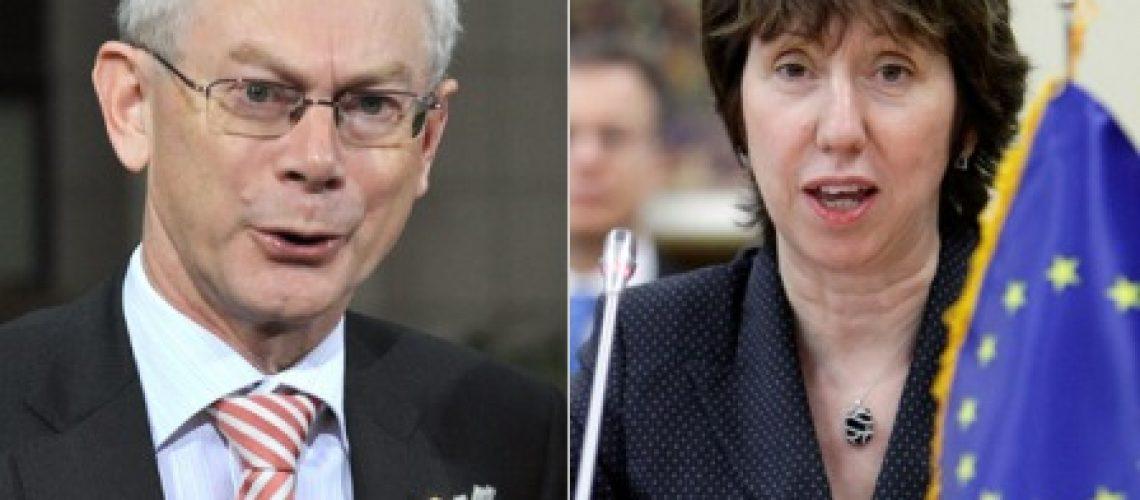 Belga Van Rompuy presidirá a UE e britânica Ashton