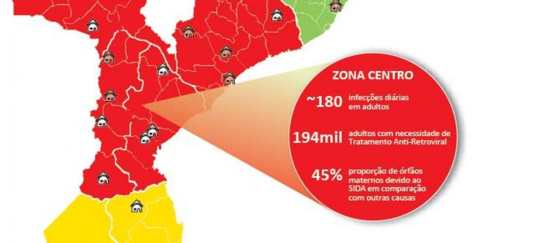 Geografia do SIDA em Moçambique