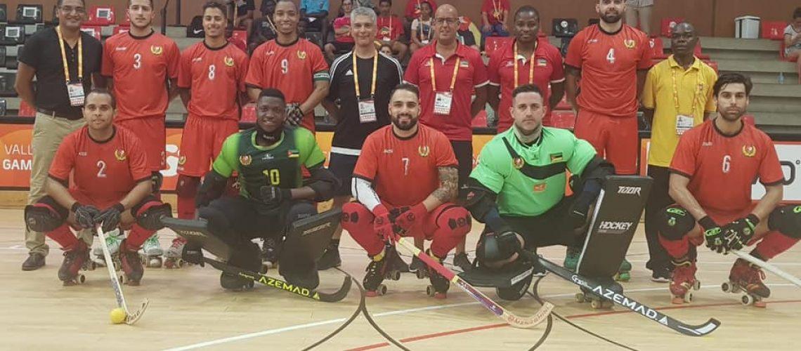 Moçambique vence Mundial B de Hóquei em Patins