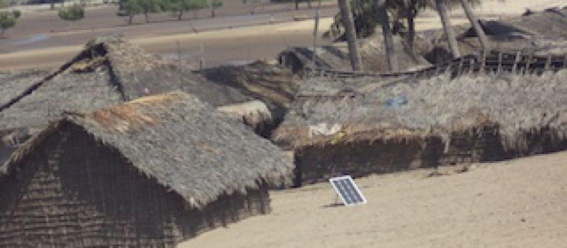 Perigo iminente na Ilha do Buzo em Angoche