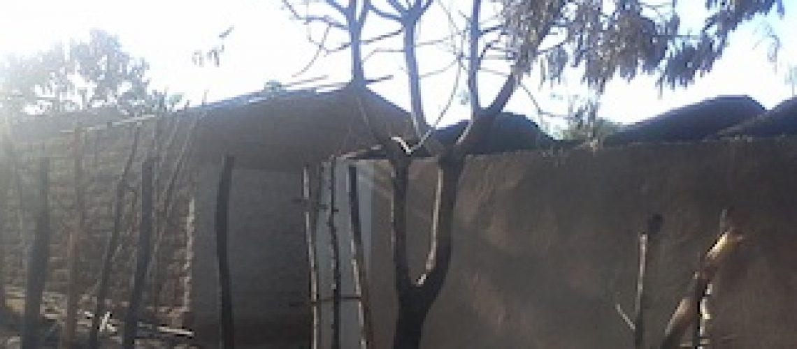 Quatro famílias desalojadas por um incêndio em Nampula
