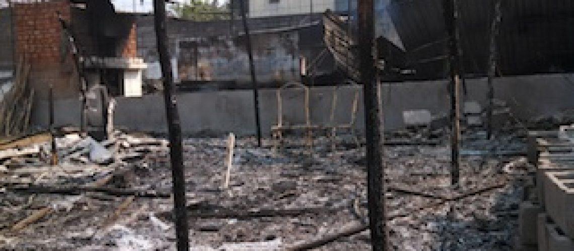 Casal português morre carbonizado em Nampula