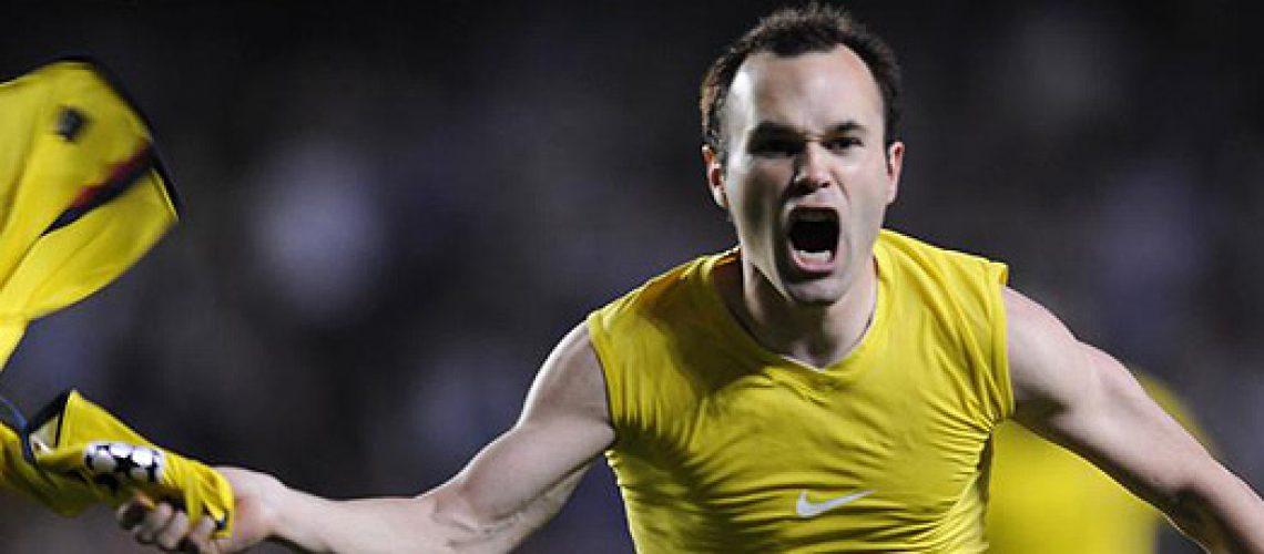 Iniesta classifica Barcelona à final da Liga dos Campeões