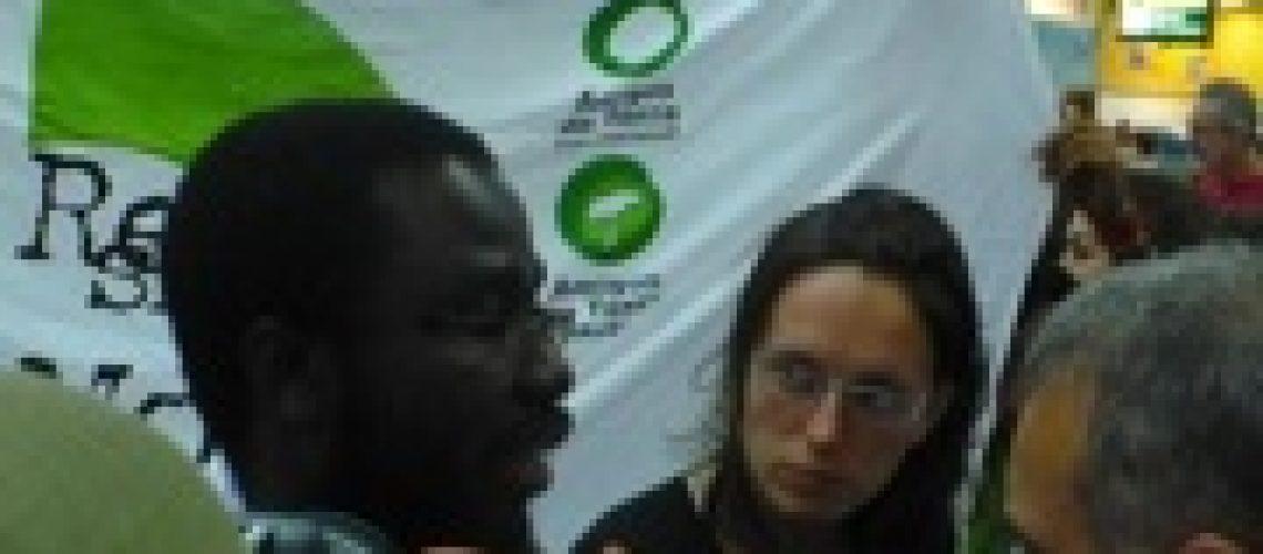 Jornalista e activista moçambicano