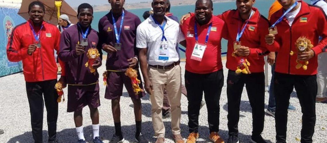 Tualibudine Mussa e Nordino Mussa dourados nos Jogos Africanos do Marrocos