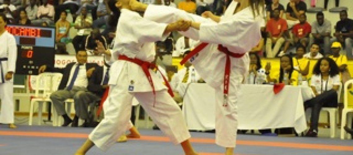 Diario X Jogos Africanos: Prata e Bronze do Karate que sabem a ouro