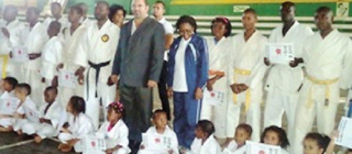 "Nampula sagra-se campeã do ""Regional"" de Karate Kimura Shukokai"