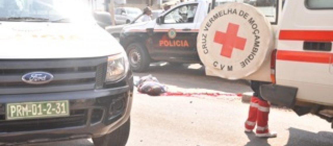 Polícia abate suposto assaltante em Maputo