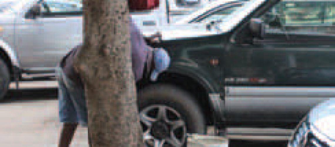 Lavadores de carros à margem da lei