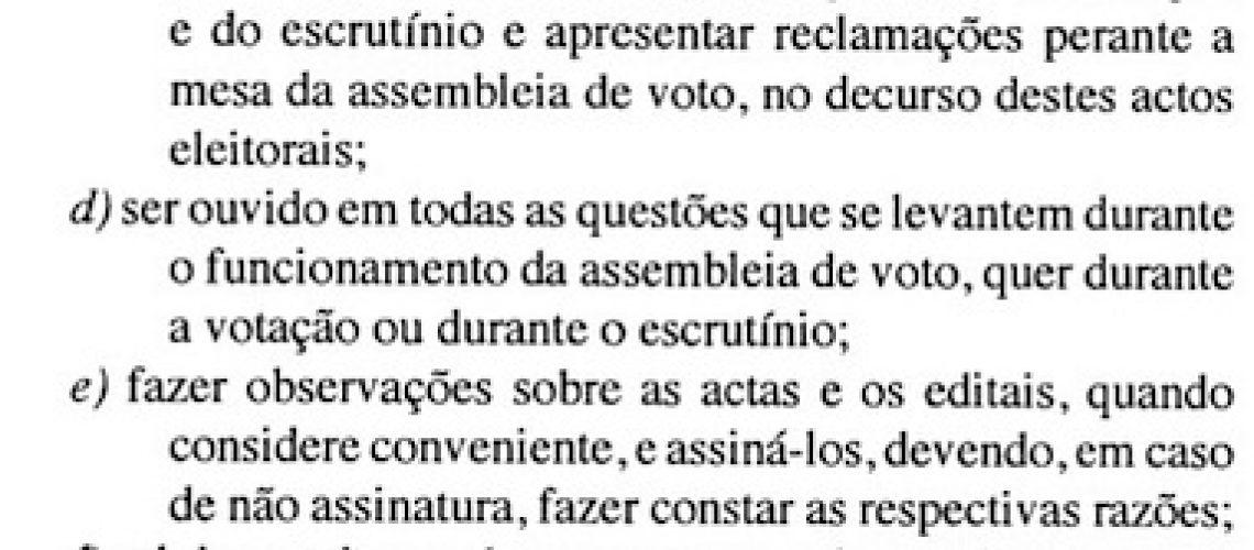 Autárquicas 2018: Há partidos extraparlamentares sem fiscais para votação no dia 10 de Outubro