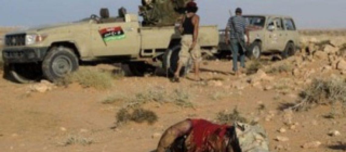 Para feridos em Sirte