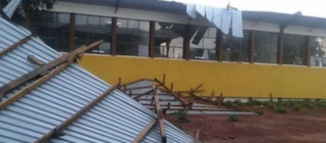 Reabilitação do Instituto Industrial e Comercial Ngungunhane durou apenas um vendaval