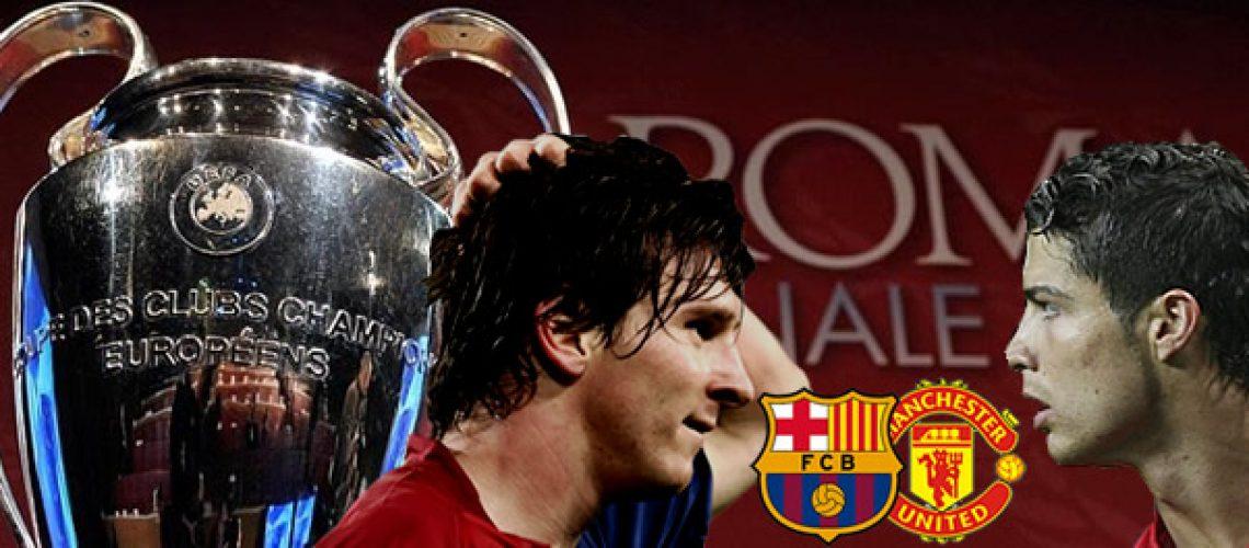 Manchester e Barcelona disputam final dos sonhos na Liga dos Campeões