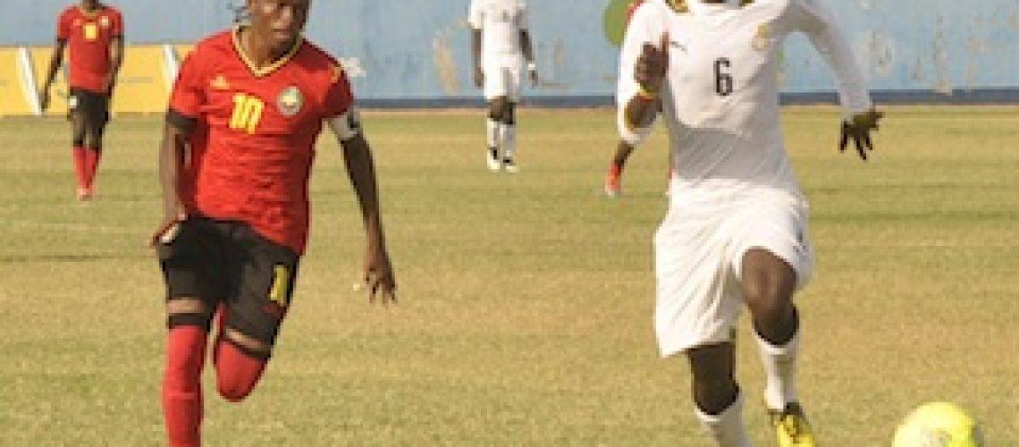 """Qualificação para os Jogos Africanos: """"Mambinhas"""" confiantes no apuramento no Gana"""