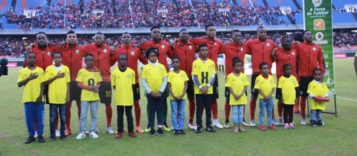 """Qualificação CAN 2019: """"Mambas"""" derrotam Zâmbia e continuam a sonhar com apuramento"""