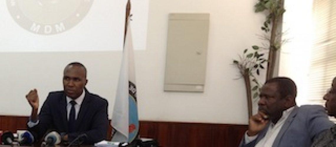 MDM rejeita relatório da Comissão Parlamentar de Inquérito às dívidas feitas secretamente no mandato de Armando Guebuza