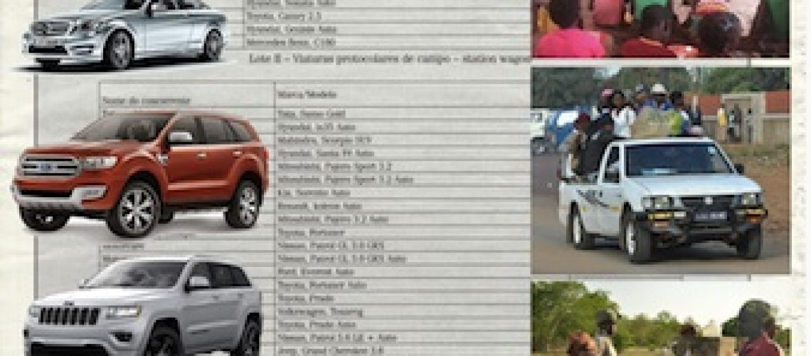 """Governo que gastou 250 milhões de meticais em carros """"está a pedir"""" 63 milhões de meticais para apoiar vítimas das calamidades naturais em Moçambique"""