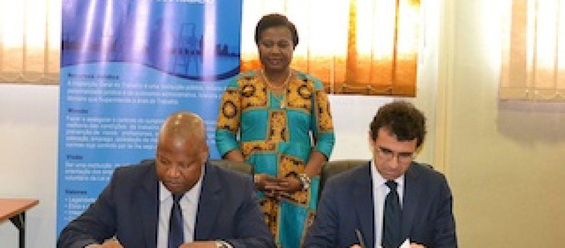 Vitória Diogo recebe novo representante da OIT na União Africana
