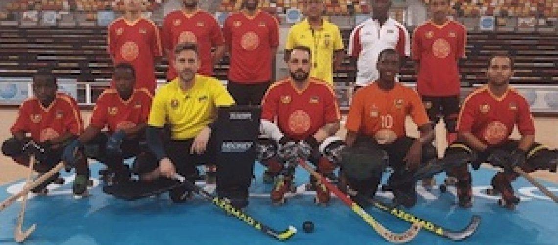 Moçambique derrotado por Angola falha apuramento para o principal Mundial de hóquei em patins