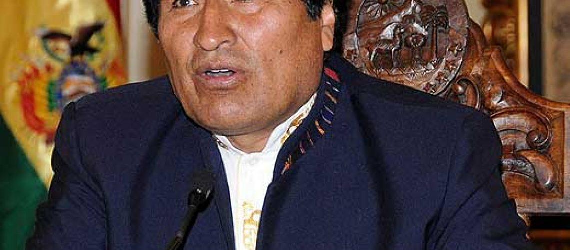 Evo Morales dá a início a campanha eleitoral na Bolívia