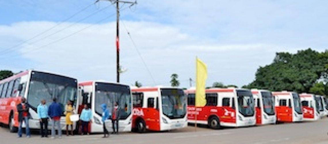 MTC entrega mais 29 autocarros aos municípios da Matola e Maputo