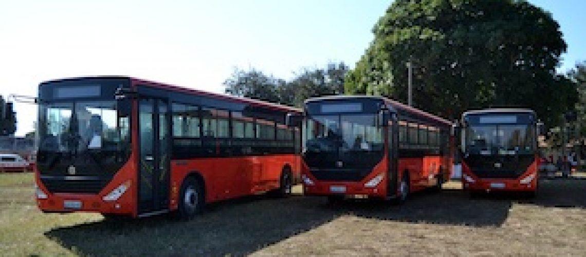 Novos autocarros para transporte público: