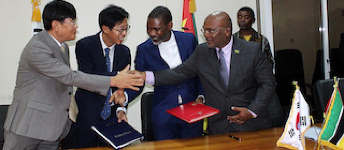 Coreanos investem para reforçar segurança rodoviária nas cidades de Maputo e Matola