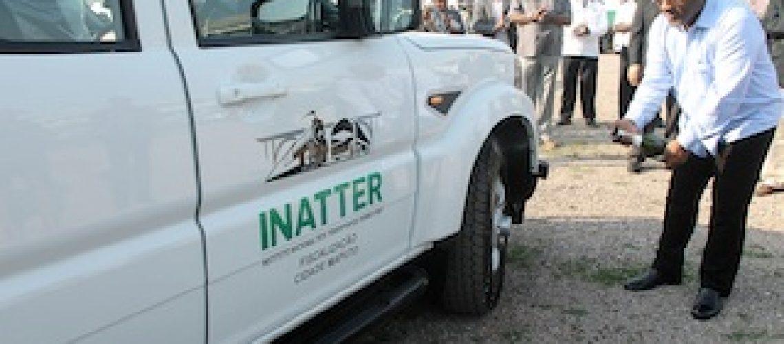 INATTER dotado de 12 viaturas para fiscalização rodoviária
