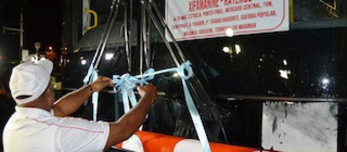 Área metropolitana de Maputo: Serviço nocturno de transporte público urbano já está em actividade