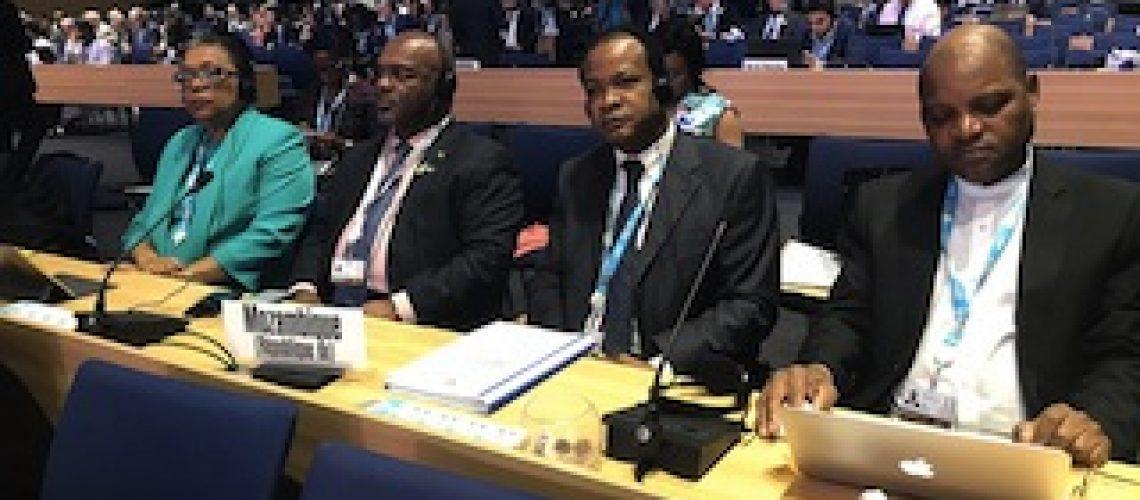 Em conferência internacional das Telecomunicações