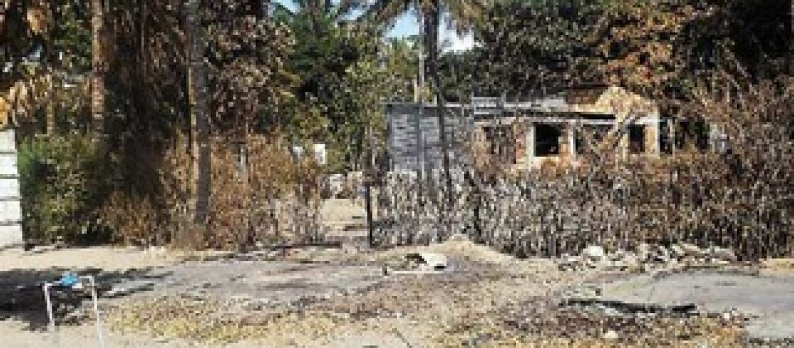 Incêndios desgraçam famílias em Inhambane