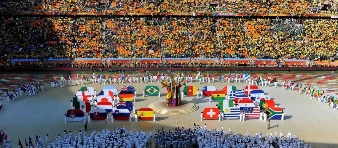 Começa o Mundial de 2010