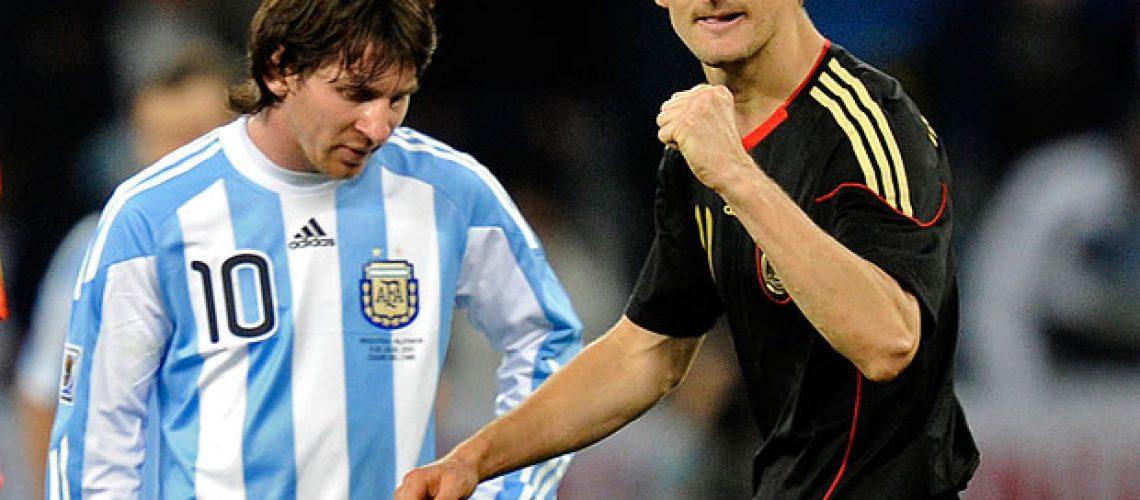 Argentina 0 – Alemanha 4