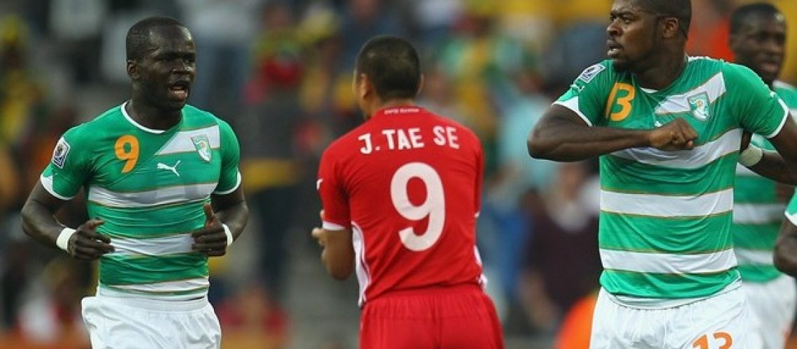 Coreia do Norte 0 - Costa do Marfim 3