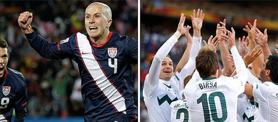 Eslovênia 2 - Estados Unidos 2: dois jogos em um