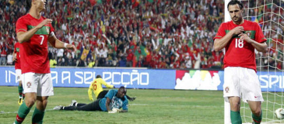 Portugal derrota Moçambique (3-0) no último ensaio antes do Mundial