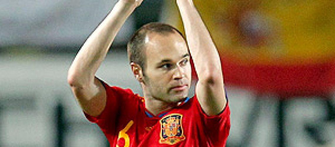 Espanha vence 6 a 0 na Polônia em amigável antes do Mundial