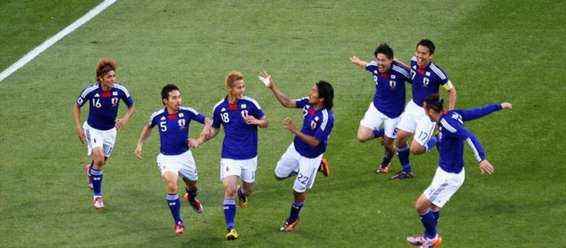 Japão 1 - Camarões 0: camarões que dormem o Honda leva