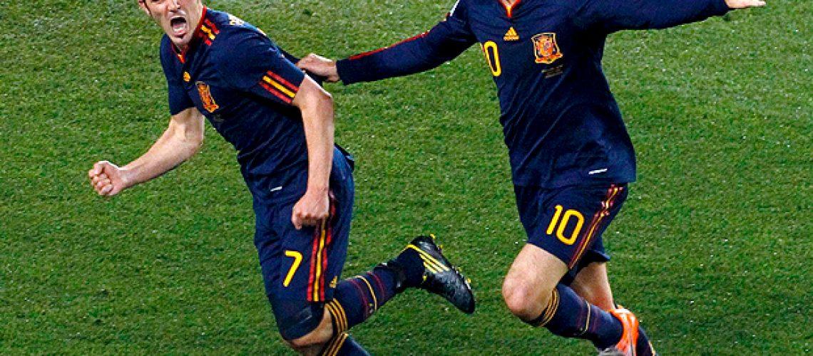 Paraguai 0 – Espanha 1