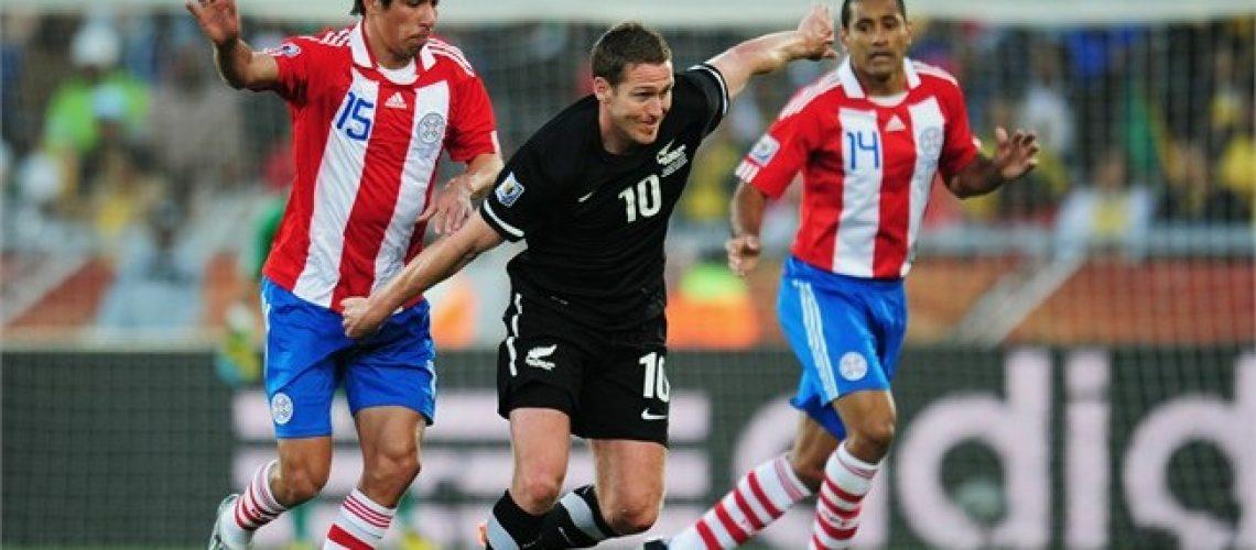 Paraguai 0 - Nova Zelandia 0