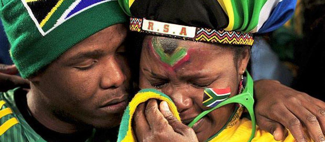 França 1 - Àfrica do Sul 2: O sonho só durou 45 minutos