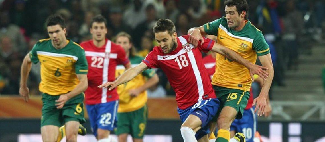 Austrália 2 - Sérvia 1