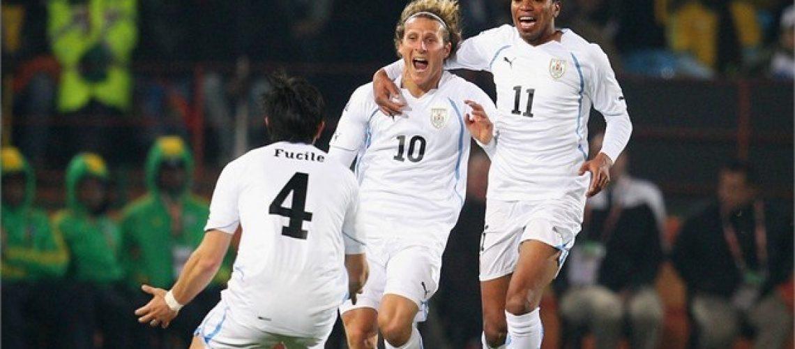 Àfrica do Sul 0 - Uruguai 3: derrota pesada dos anfitriões