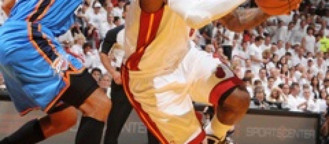 NBA Finais: LeBron lesiona-se mas Miami bate Thunder e fica a uma vitória do título