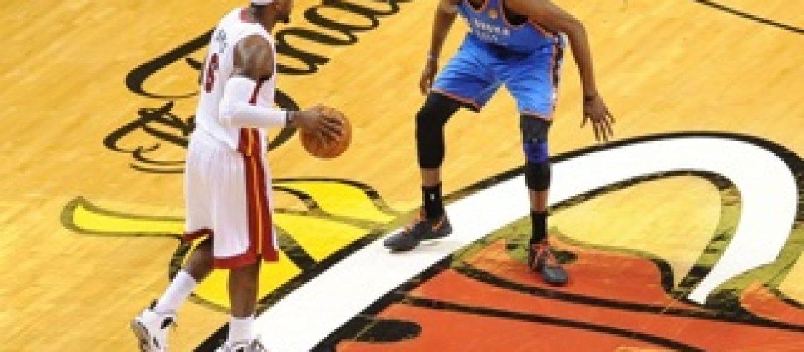 NBA Finais: LeBron e Wade brilham