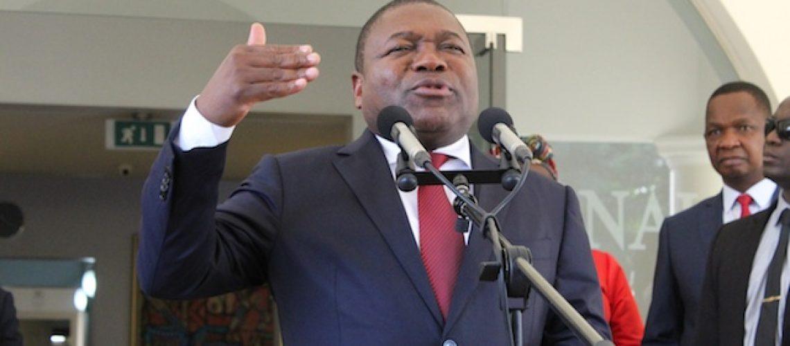 """Nyusi não se conforma com decisão do Conselho Constitucional sobre a dívida da EMATUM """"É uma questão jurídica que nós vamos ver"""""""
