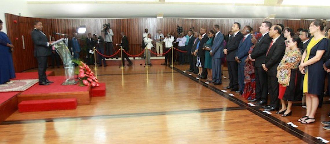 "Presidente de Moçambique pede apoios ""concretos"" à Comunidade Internacional no combate aos ""malfeitores"" em Cabo Delgado"