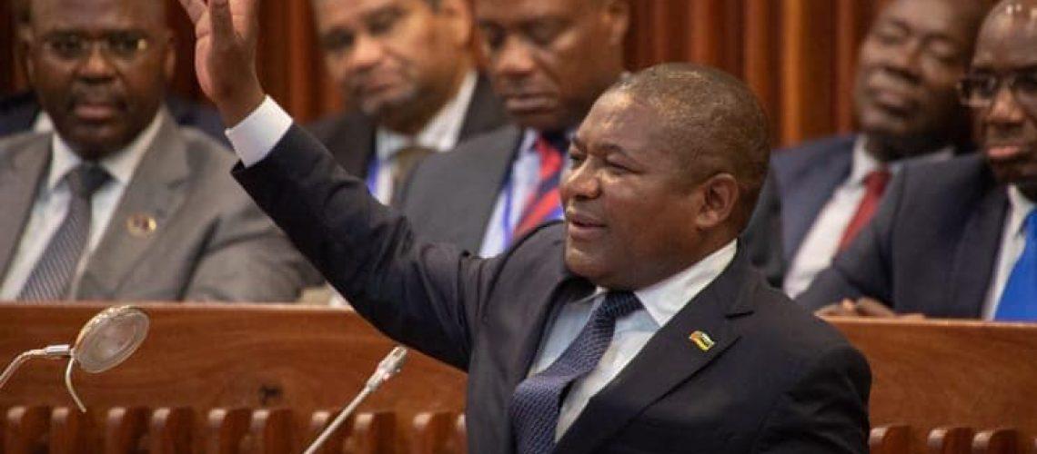 Presidente Nyusi deverá anunciar que o Estado da Nação é animador