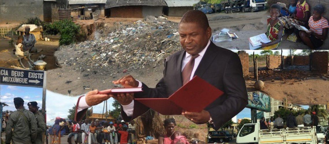 Moçambicanos avaliam metade do mandato do Presidente Nyusi como medíocre com tendência para mau