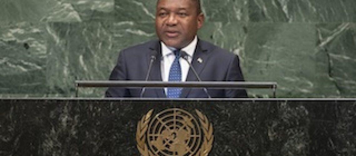 Nas Nações Unidas Nyusi reclama mérito pela Paz em Moçambique e falseia políticas que tem implementado